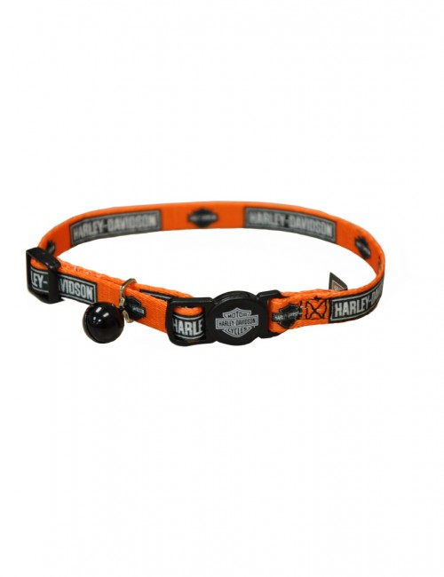 collar gato seguridad bajo precio marca harley davidson ICONOPET.COM