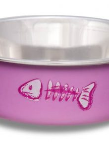 7752-Fish-Pink-Cat-Bella-Bowl-D