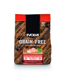 evolve GRAIN FREE pavo nutriciona alimento natural saludable super premium proteina animal